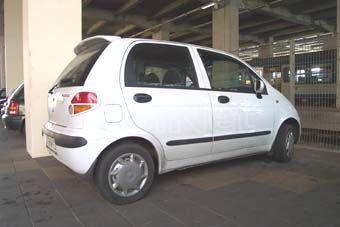 Chevrolet/Daewoo Matiz I 1999-2001-ig hátsó szárny
