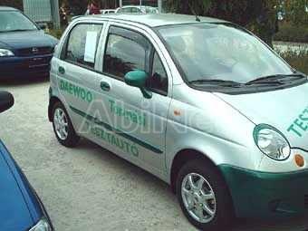Chevrolet/Daewoo Matiz II 2000-től első szemöldök