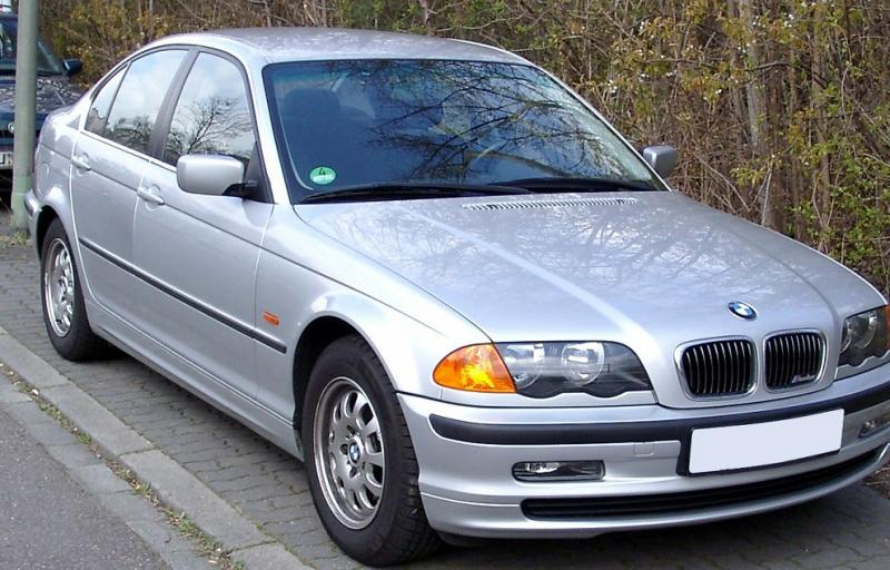 BMW E46 ablak légterelő, 2db-os, 1998-2005, 4 ajtós