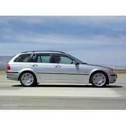 BMW E46 ablak légterelő, 2db-os, 1999-2005, 5 ajtós