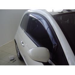 Fiat 500 ablak légterelő, 2db-os, 2007-, 3 ajtós
