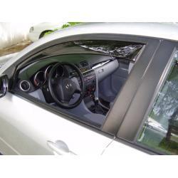 Mazda 3 ablak légterelő, 2db-os, 2003-2008, 4 ajtós