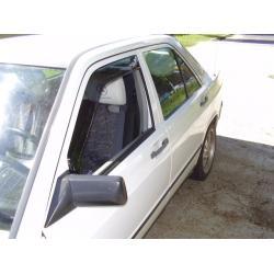 Mercedes 190 ablak légterelő, 2db-os, , 4 ajtós