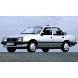 Opel Ascona C ablak légterelő, 2db-os, 1981-1988, 4 ajtós