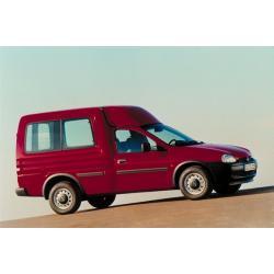 Opel Combo B ablak légterelő, 2db-os, 1993-2001, 3 ajtós