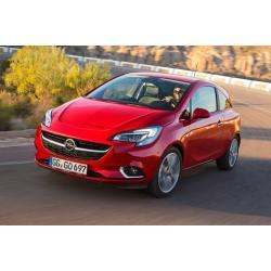 Opel Corsa E ablak légterelő, 2db-os, 2015-, 3 ajtós