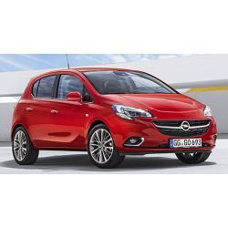 Opel Corsa E ablak légterelő, 2db-os, 2015-, 5 ajtós