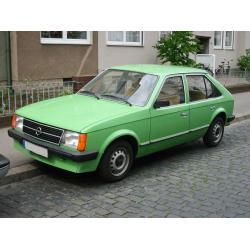 Opel Kadett D ablak légterelő, 2db-os, 1980-1984, 5 ajtós