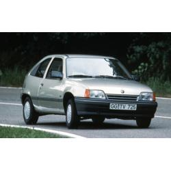Opel Kadett E ablak légterelő, 2db-os, 1985-1991, 3 ajtós