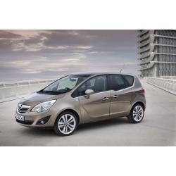Opel Meriva ablak légterelő, 2db-os, 2010-, 5 ajtós