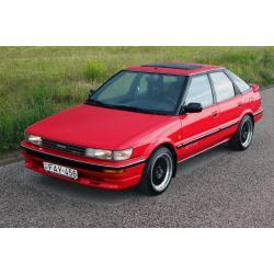 Toyota Corolla E90 Liftback ablak légterelő, 2db-os, 1987-1991, 5 ajtós