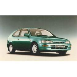 Toyota Corolla Liftback ablak légterelő, 2db-os, 1992-1997, 5 ajtós