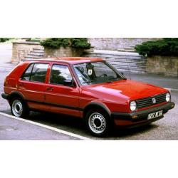 Volkswagen Golf II. ablak légterelő, 2db-os, 1987-1992, 5 ajtós