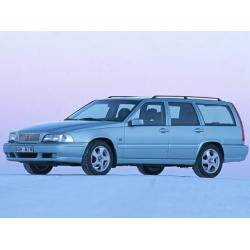 Volvo V70 ablak légterelő, 2db-os, 1999-2007, 5 ajtós