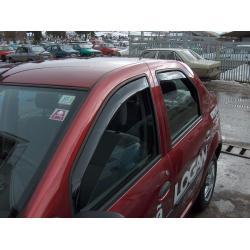 Dacia Logan ablak légterelő, 4db-os, 2004-2012, 4 ajtós