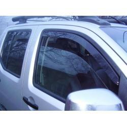Nissan Navara ablak légterelő, 4db-os, 2004-2015, 4 ajtós