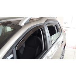 Nissan Note E12 ablak légterelő, 4db-os, 2013-, 5 ajtós