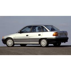 Opel Astra F ablak légterelő, 4db-os, 1992-1994, 4 ajtós