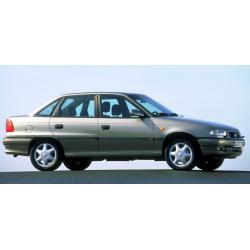 Opel Astra F ablak légterelő, 4db-os, 1994-2002, 4 ajtós