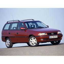 Opel Astra F Karavan ablak légterelő, 4db-os, 1992-1994, 5 ajtós