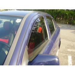 Opel Astra G ablak légterelő, 4db-os, 1998-2009, 4 ajtós