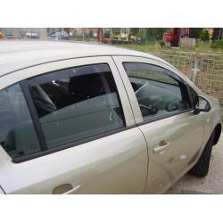 Opel Corsa D ablak légterelő, 4db-os, 2006-2014, 5 ajtós