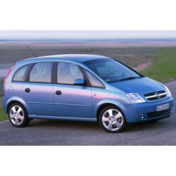 Opel Meriva ablak légterelő, 4db-os, 2003-2010, 5 ajtós