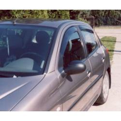 Peugeot 206 ablak légterelő, 4db-os, 1998-2010, 5 ajtós