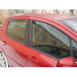 Peugeot 307 ablak légterelő, 4db-os, 2001-2008, 5 ajtós