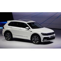 Volkswagen Tiguan ablak légterelő, 4db-os, 2016-, 5 ajtós