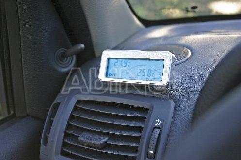 Autó külső belső digitális hőmérő